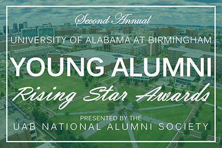 Image for 2018 UAB Young Alumni Rising Star Award