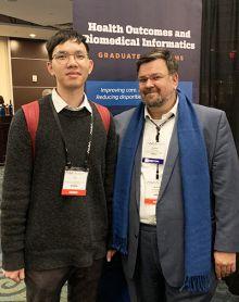 Photo of Qian Li and Mathias Brochhausen, Ph.D.