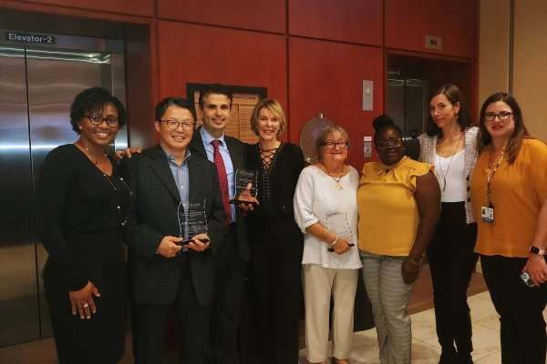 HOBI faculty and staff at UFHCC 2019 Awards
