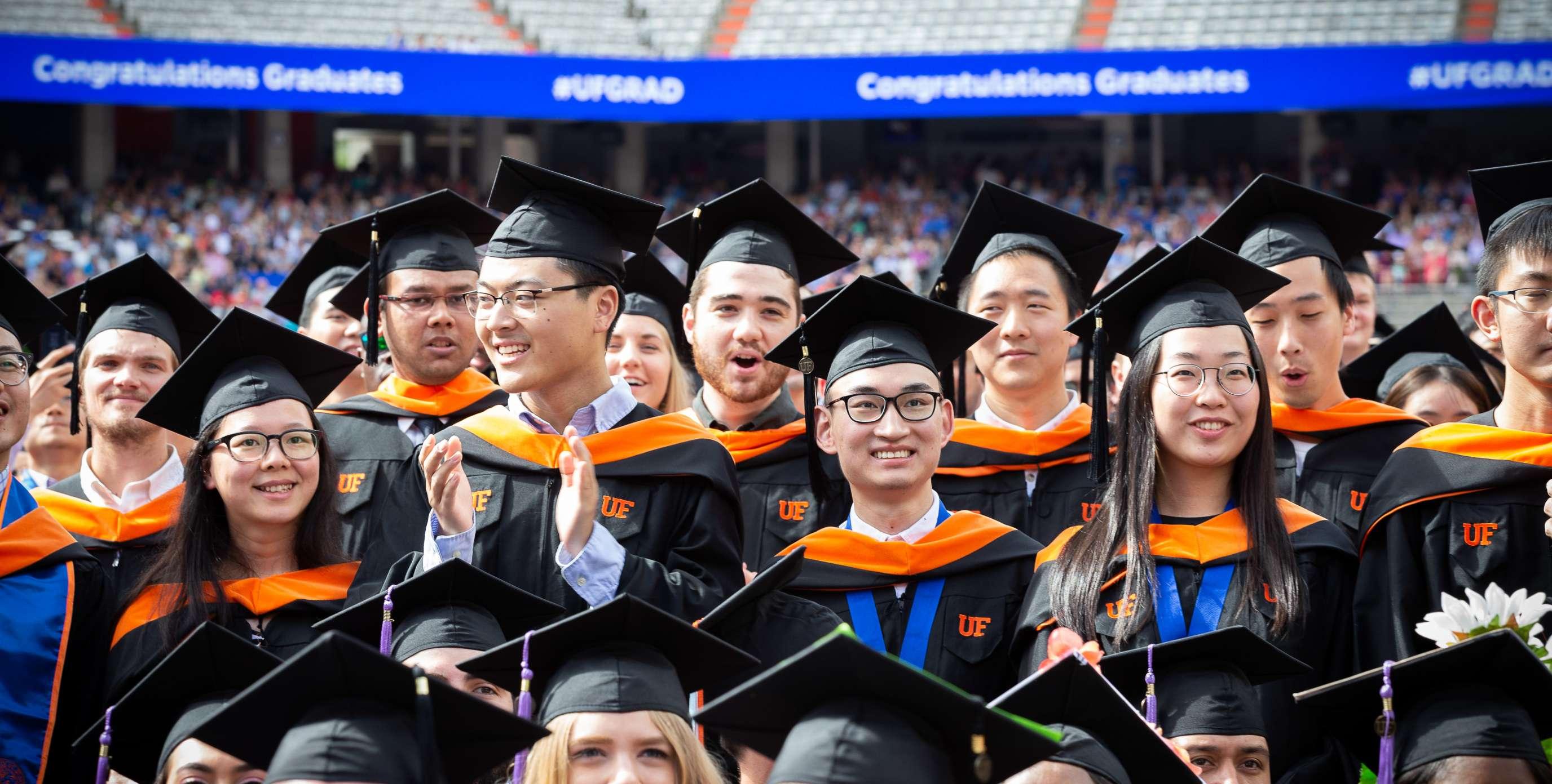 UF Students graduate at Ben Hill Griffen Stadium