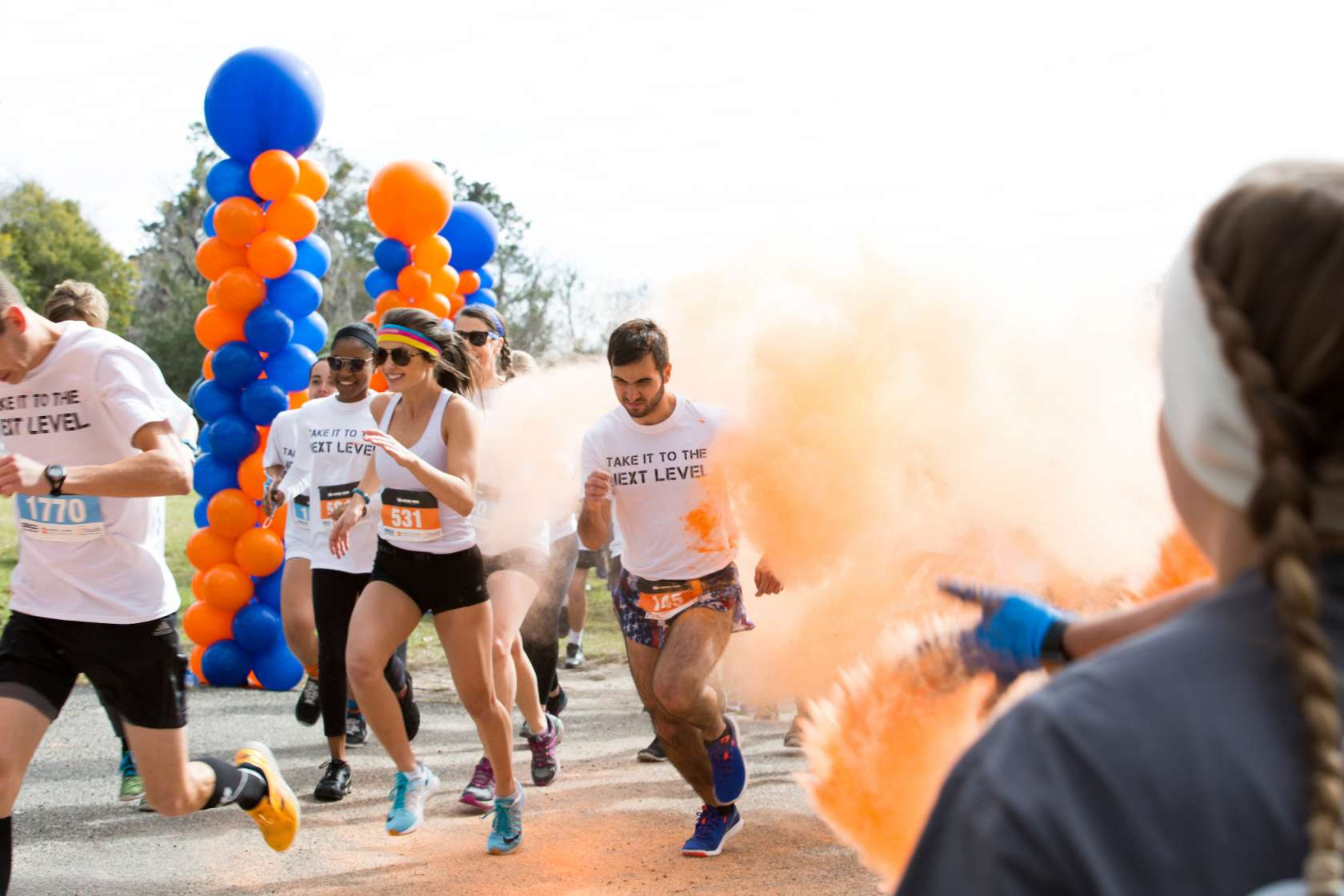 Orange and Blue Run, put on by the Florida Cicerones.